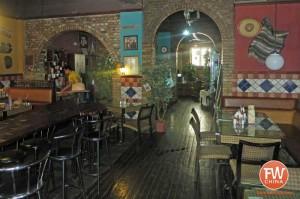 An inside view of the Texas Cafe in Urumqi, Xinjiang 德克萨斯西餐厅