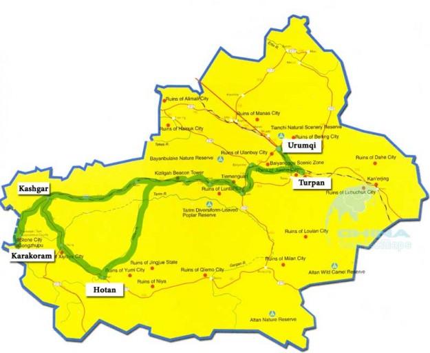Xinjiang-10-Day-Itinerary