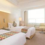 A double room at the Grand Mercure Hotel in Urumqi, Xinjiang