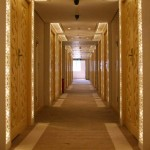 Hallway at the Grand Mercure Hotel in Urumqi, Xinjiang