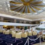 A view of the Grand Mercure lobby in Urumqi, Xinjiang