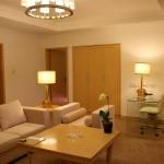 A suite at the Grand Mercure Hotel in Urumqi, Xinjiang