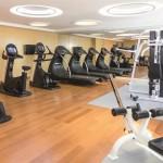 The workout center at the Grand Mercure in Urumqi, Xinjiang