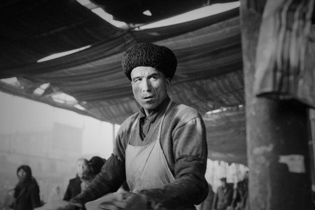 Portrait of a Xinjiang man by Ryan Pyle