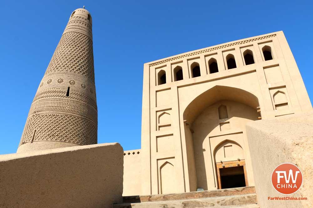 Turpan's Emin Minaret in Xinjiang, China
