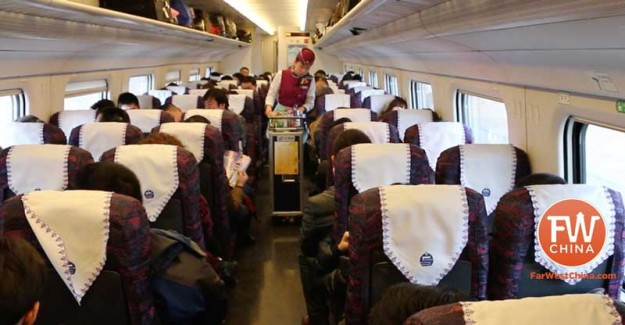 Xinjiang High Speed Train Second Class