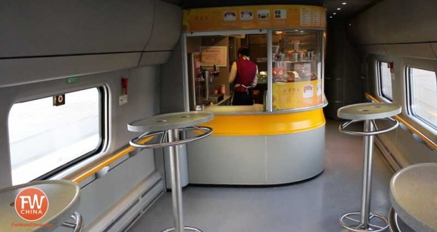 Xinjiang High Speed Restaurant Rail Car
