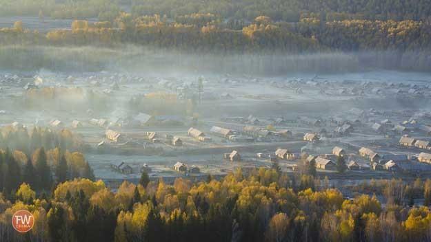Mist over Hemu HD Wallpaper Download