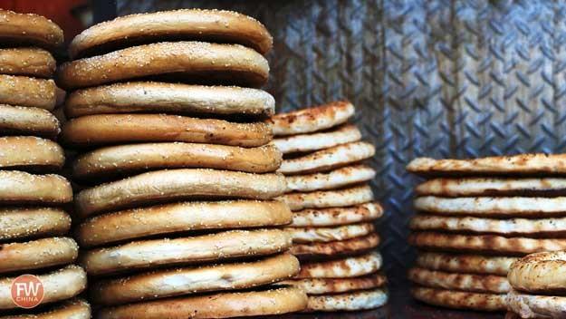 Uyghur Bread Xinjiang