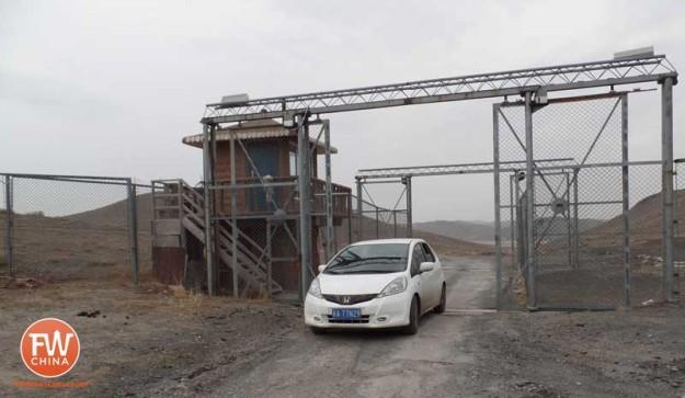 Driving through Jurassic Park in Xinjiang China