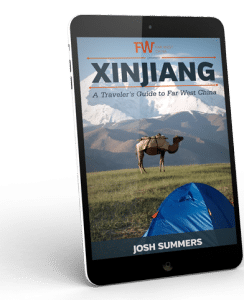 Xinjiang Travel Guide cover by FarWestChina