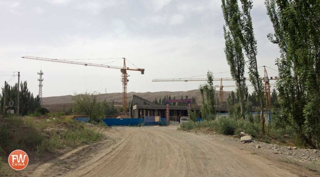 New Entrance to Jiaohe Ancient City in Turpan