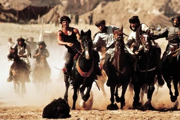 Rambo III and the game of Buzkashi