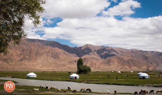 Alar Grasslands in Tashkurgan, Xinjiang