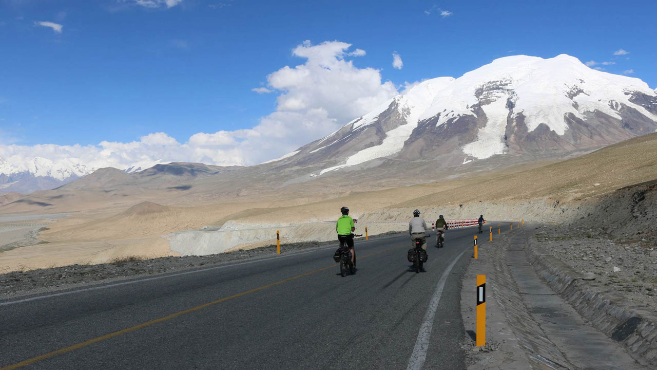 Cycling the Karakoram Highway in Xinjiang, China