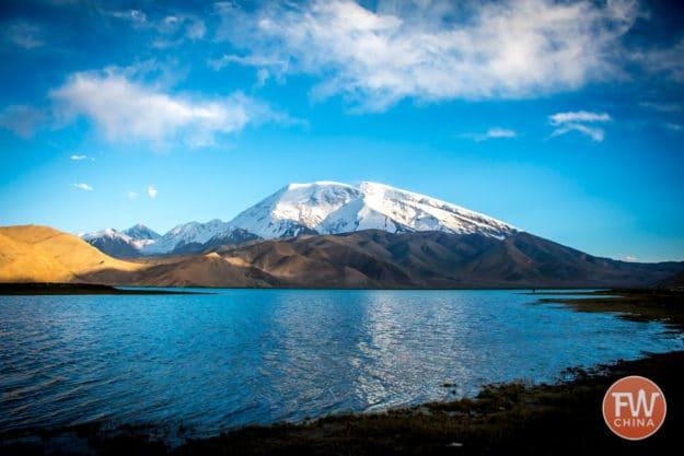 Karakul Lake in Xinjiang, China