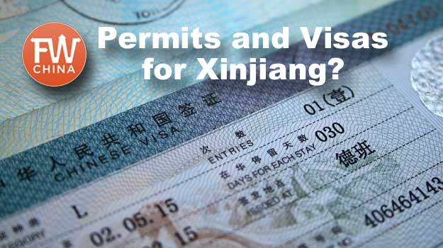 Is there a special permit or Chinese visa needed for Xinjiang?