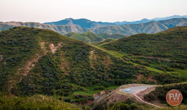 Road trip through the Tianshan in Xinjiang