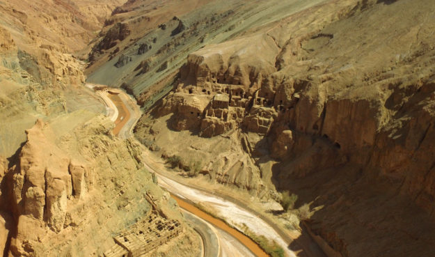 The restricted-access caves north of Tuyoq in Xinjiang