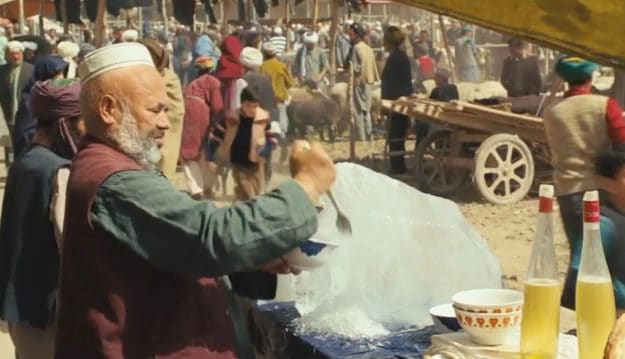The Kite Runner was filmed in Kashgar