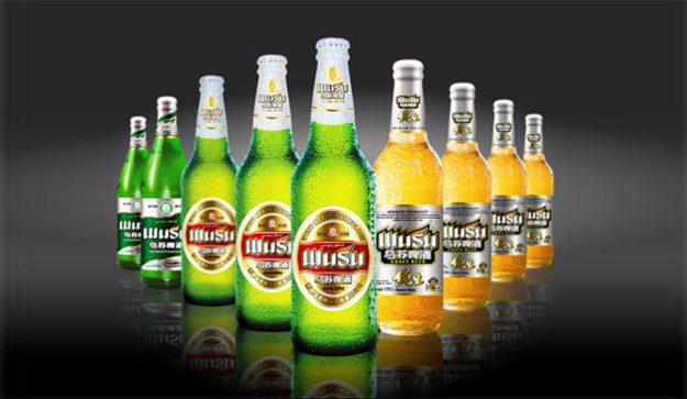 Wusu beer from Xinjiang, China
