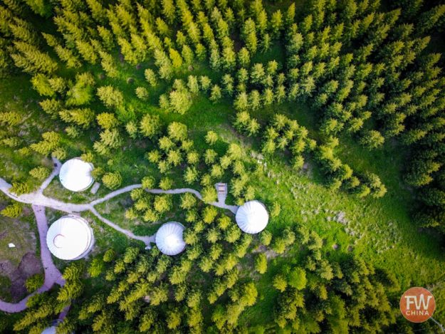 Wusu Foshan National Forest Park in Xinjiang 乌苏佛山国际森林公园