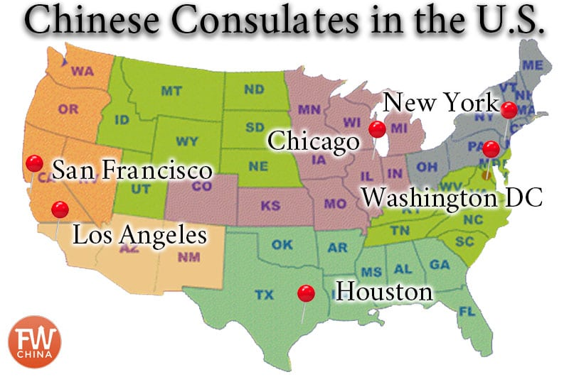 Best China Visa Service For Us Citizens Plus Discount Code - China-and-us-map