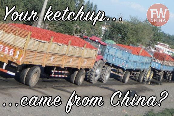 Ketchup from China (Xinjiang region)