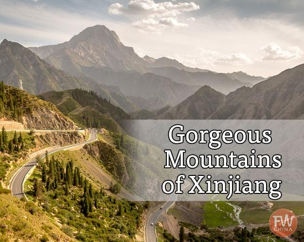 China mountains found in Xinjiang
