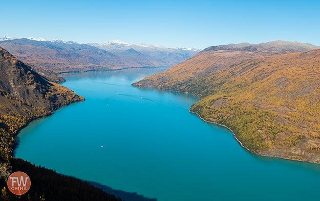Kanas Lake Xinjiang, China