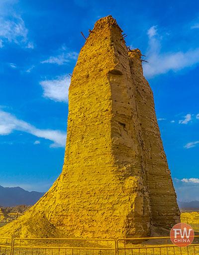Kuqa Beacon Tower in Xinjiang