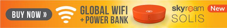 Try the Skyroam global WiFi